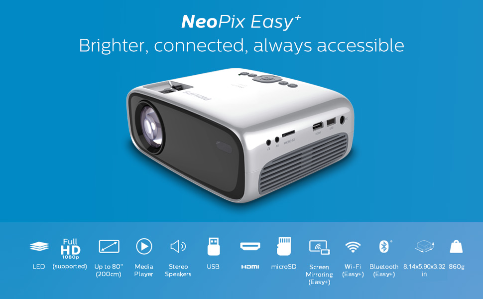 NeoPix Easy+ mini projector