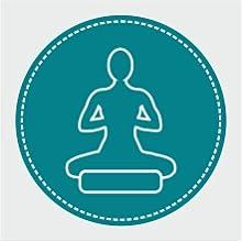 European, Yoga Bolster, Organic, Meditation, Buckwheat, Pillow, Round, Cotton, Functional, Designed