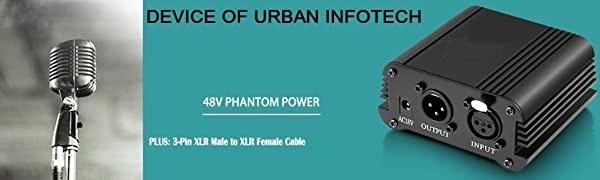 DEVICE OF URBAN INFOTECH PHANTOM POWER