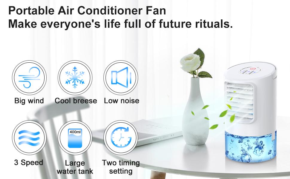 portable air cooler conditioner fan