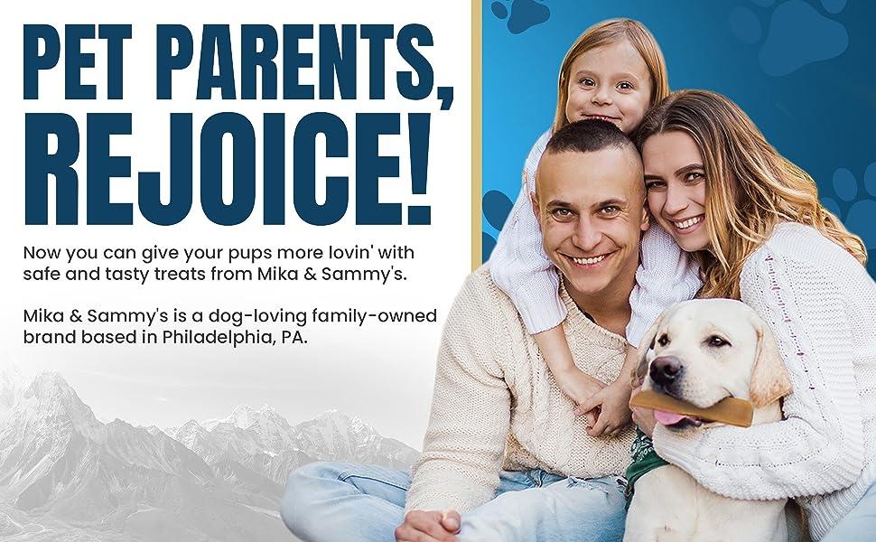 Pet Parents Rejoice for Mika amp; Sammy's Gourmet Pet Treats