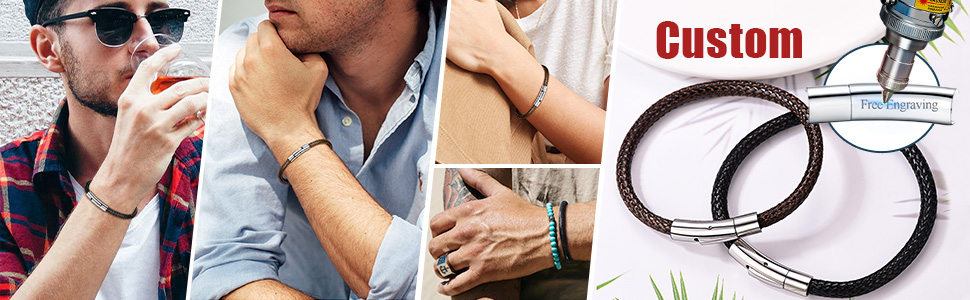 leather bracelet cord