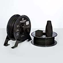 tpu roll contains a 1 kg spool at 1.75 mm filament diameter and dimensional accuracy of +/- 0.03 mm