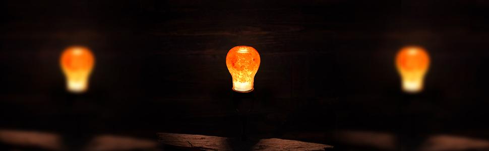 Pink Salt lamp Bulb