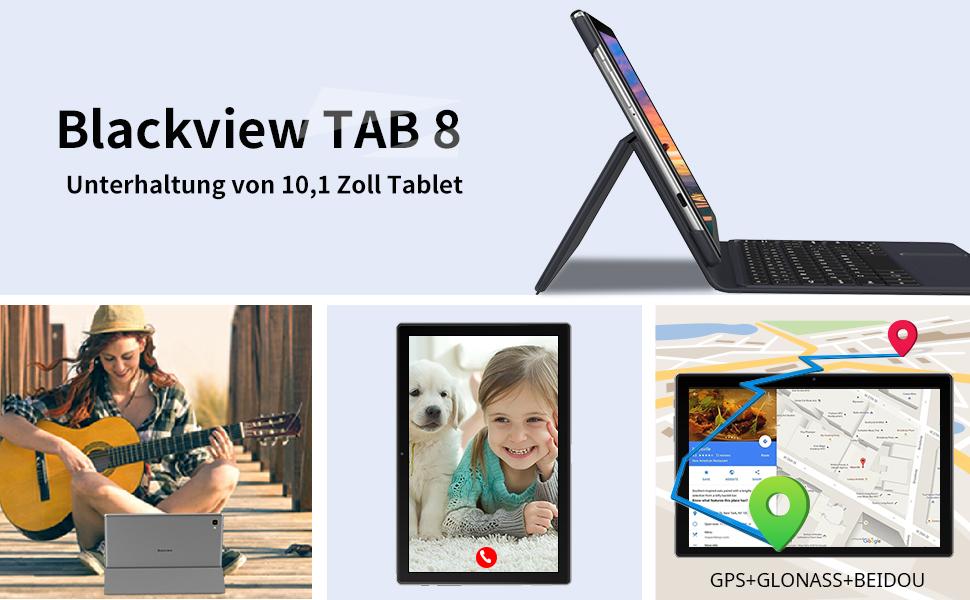 Weitere Funktionen für Tablet Tab8