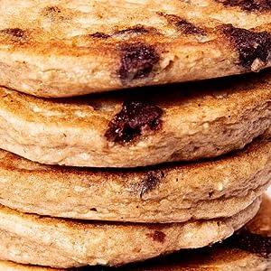 Chocolate Chip Pancake and Waffle Mix Vegan Dairy Gluten Free