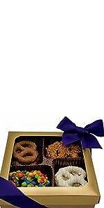 pretzel gift box easter