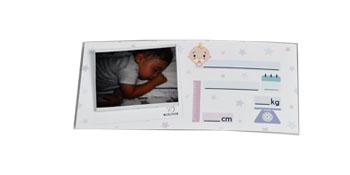 Cartolina ricordo nascita neonato