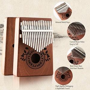 17 Keys Kalimba Thumb Piano