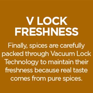 V LOCK FRESHNESS