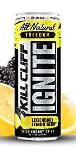 Kill Cliff Ignite Legendary Lemon Berry