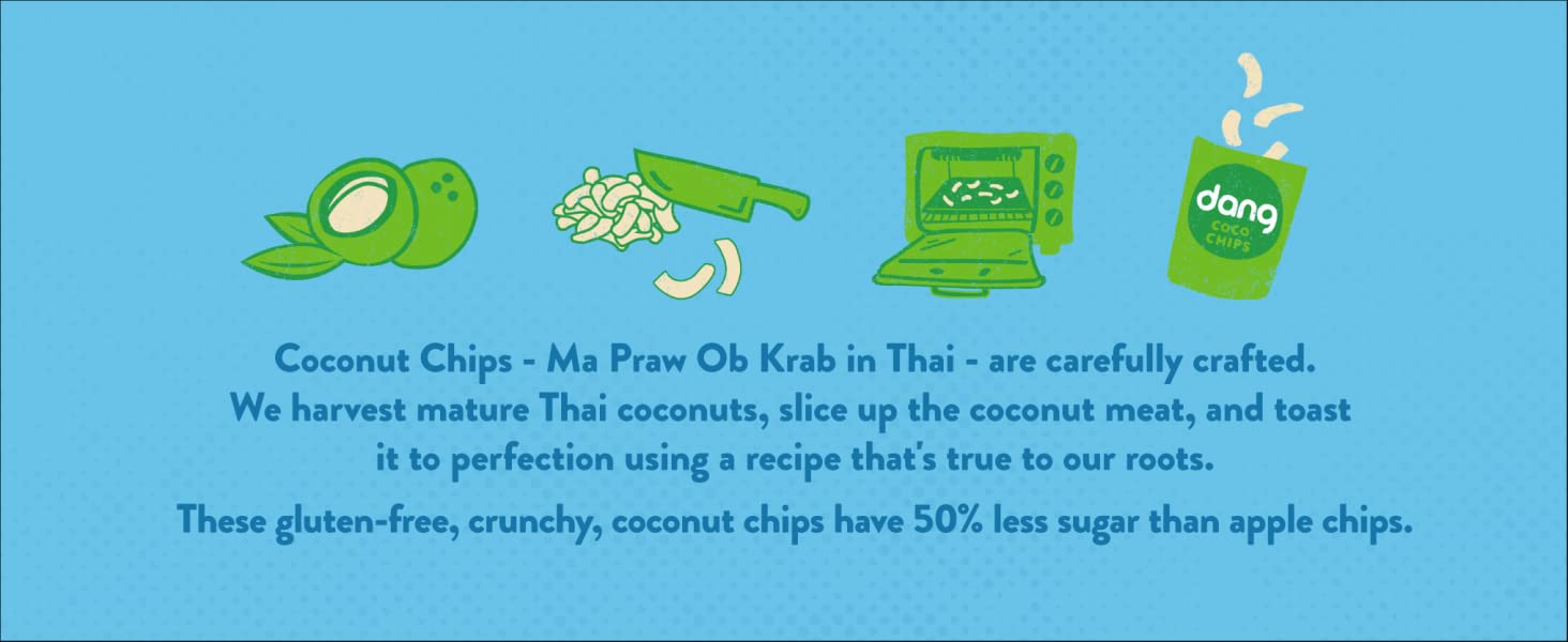 How Dang Lightly Salted Coconut Chips Are Made