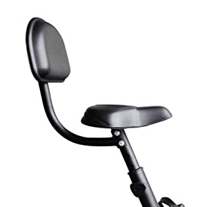 Cushioned Seat of Reach Exercise Cycle
