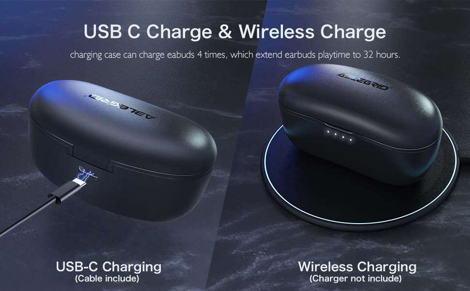 USB C Charger & Wireless Charge