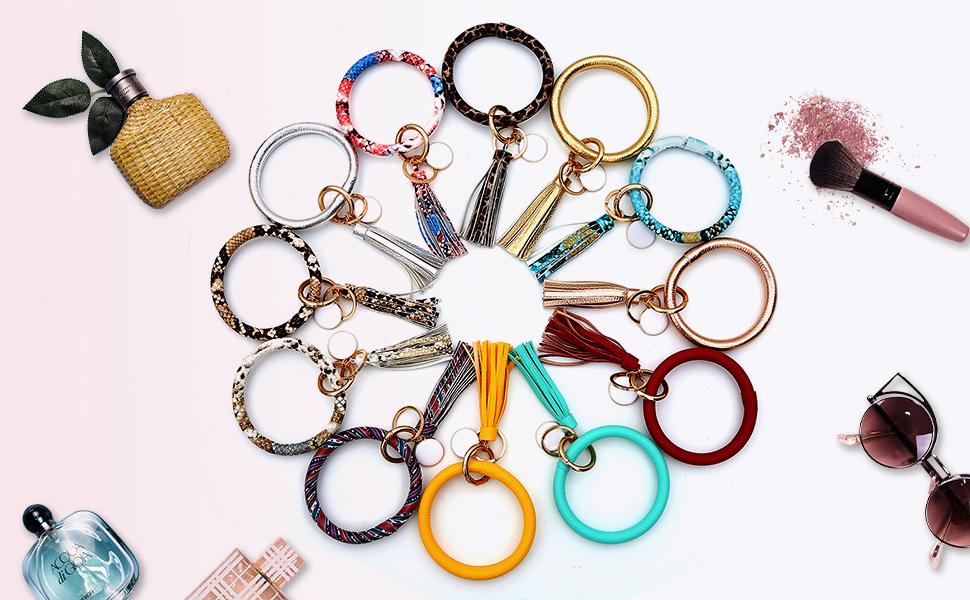 women key holder bracelet