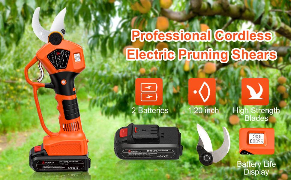 Electric Pruning Shears