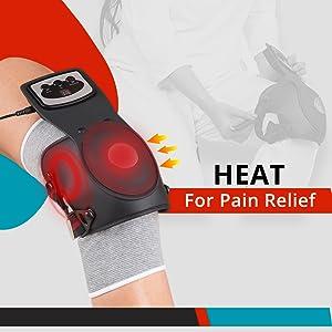 knee cap massager with heat