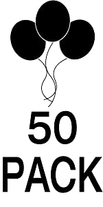 Balloons 50 Pack Party Kids