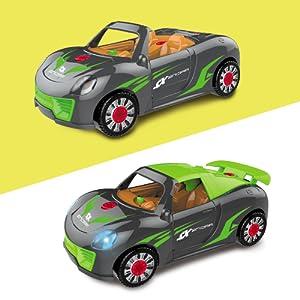 2 in 1 take apart car