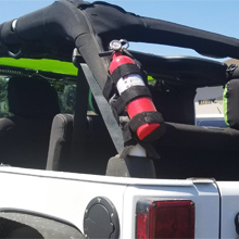Roll Bars Fire Extinguisher Mount