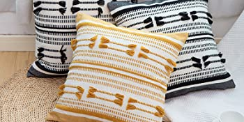 farmhouse style pillow cover
