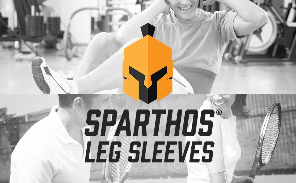 We created the Sparthos Leg Compression Sleeves for the perfect amount of leg support