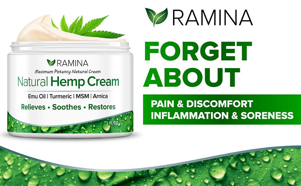 pain relief cream, hemp cream