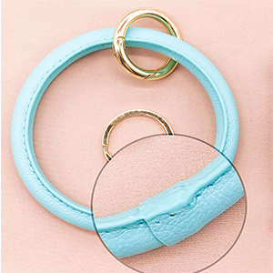 mint bracelet keyring