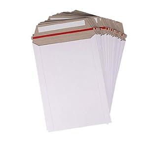 kraft white stay flat mailers envelope shipping mailer