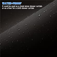 water proof shower curtain liners