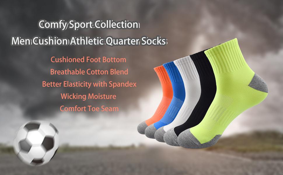 Quarter Socken Herren