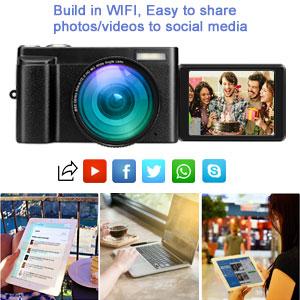 digital camera with WiFi