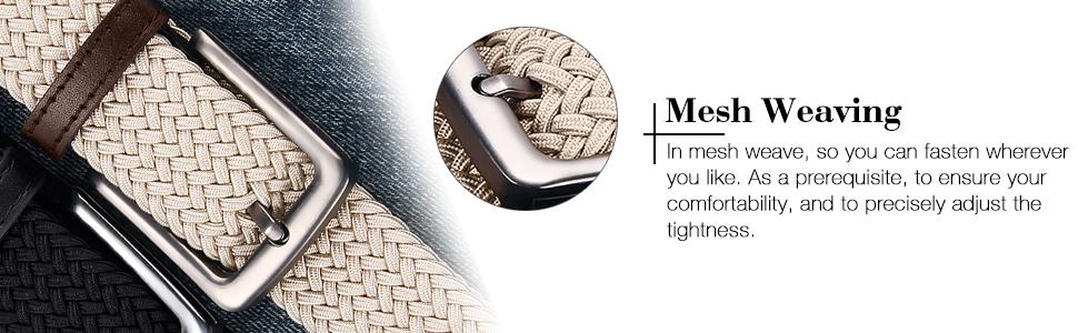 Bradied Belt for men