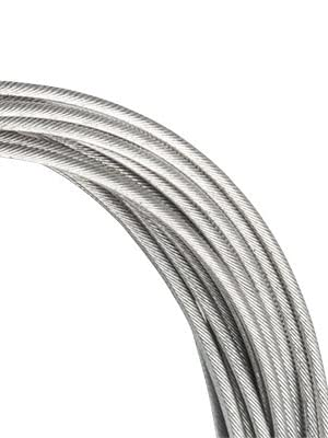 jagwire basics galvanized shifter cable road gravel mountain