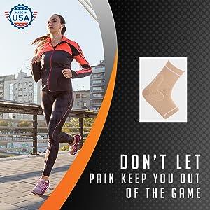 brd sport sports compression ankle socks