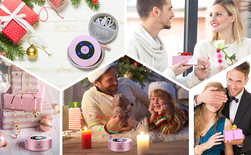 Bluetooth speaker for holiday gift