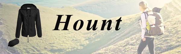 hount women rain jackets