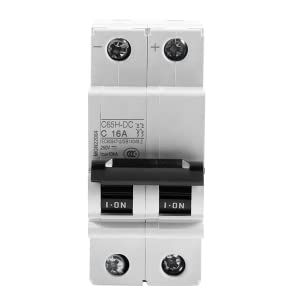 Details about  /10A//16A//20A//32A//50A//63A Miniature Circuit Breaker 2P Solar Energy Air Switch IG