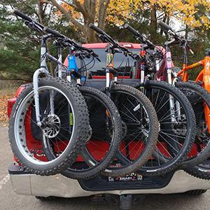 tailgate bike rack