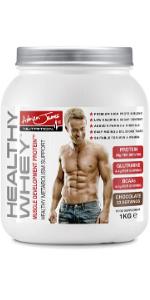 whey protein powder shake chocolate vanilla strawberry weight loss diet healthy thermoblaze dietvit