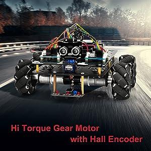 Hi torgue gear motor