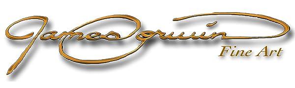 James Corwin Fine Art Company Logo Amazon Banner