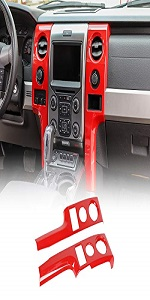 Central Console Panel Air Outlet Vent Cover Trim for 2009-2014 Ford F150