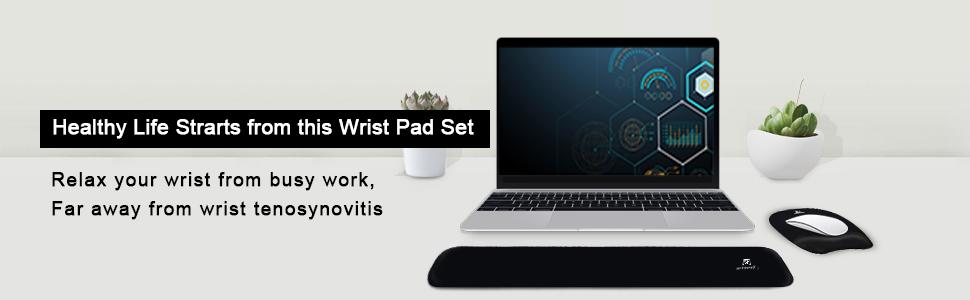wrist pad set