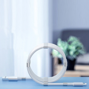 Magnet storage data cable:Durable without frequent line changes Anti-oxidation.