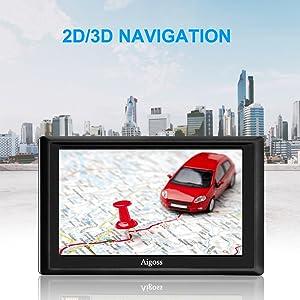 2d / 3d навигация
