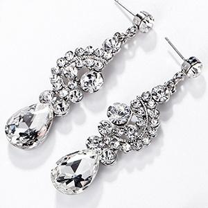 bridal women dangle earrings
