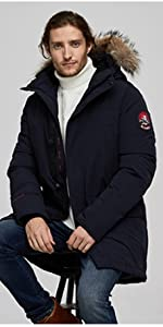 snow coat parka