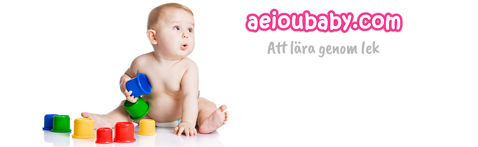 aeioubaby leksaker baby barn småbarnsleksaker lärande utbildning