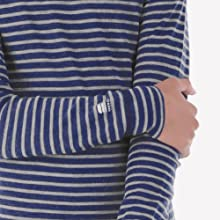 our kids base layer long sleeves are made with 100% merino wool that is itch free when next to skin